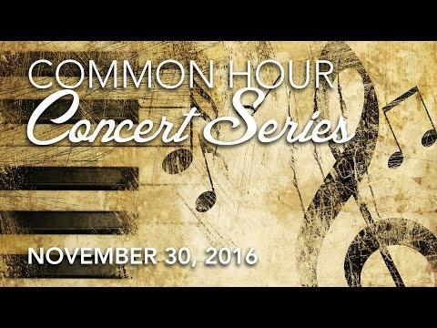 Common Hour Concert Series | Hofstra Music