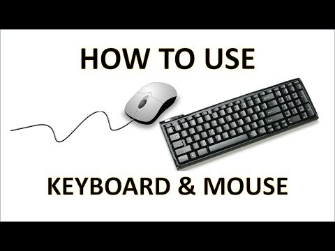 Computer Fundamentals - The Keyboard And Mouse