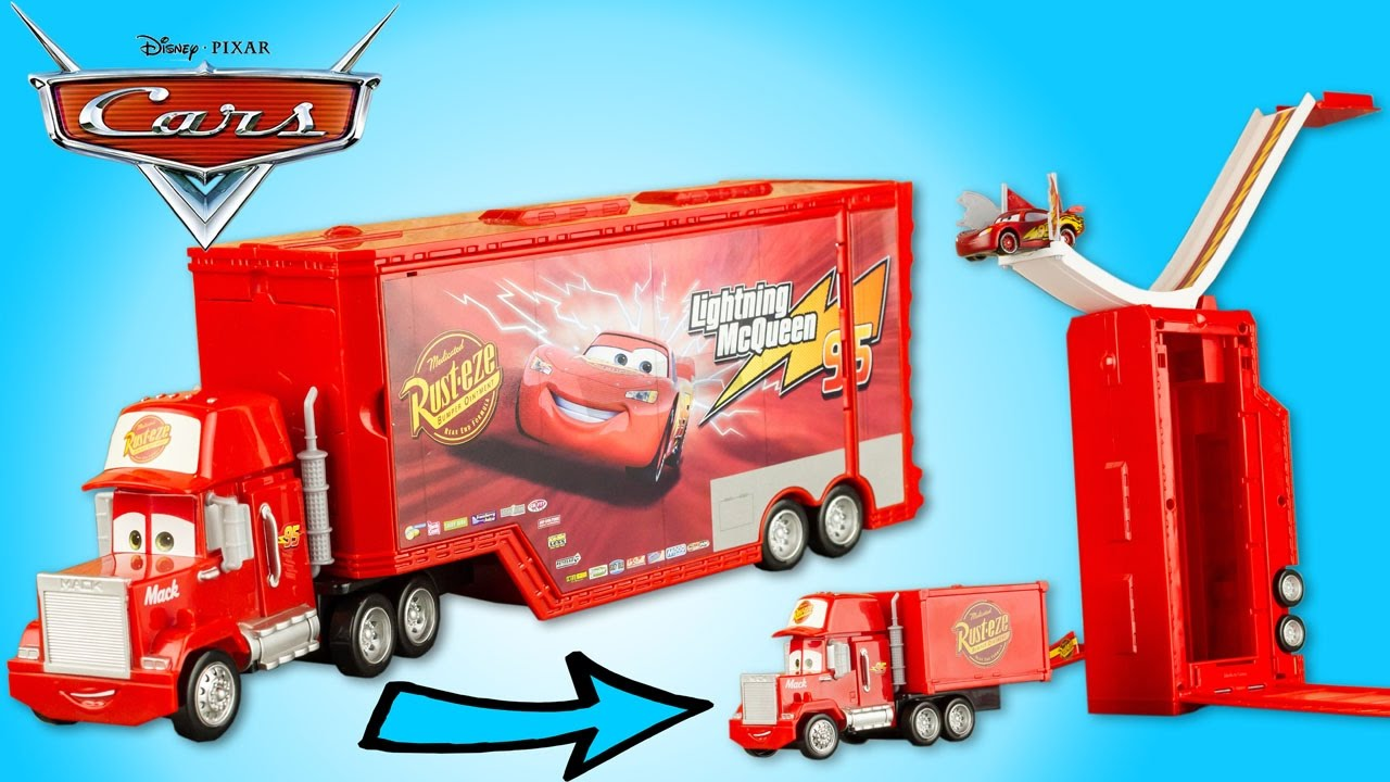 camion mack transformable disney cars cascades flash. Black Bedroom Furniture Sets. Home Design Ideas