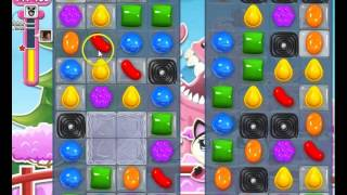 Candy Crush Saga Level 375 Basic Strategy