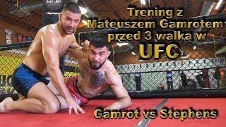 Trening z Mateuszem Gamrotem przed 3 walką w UFC