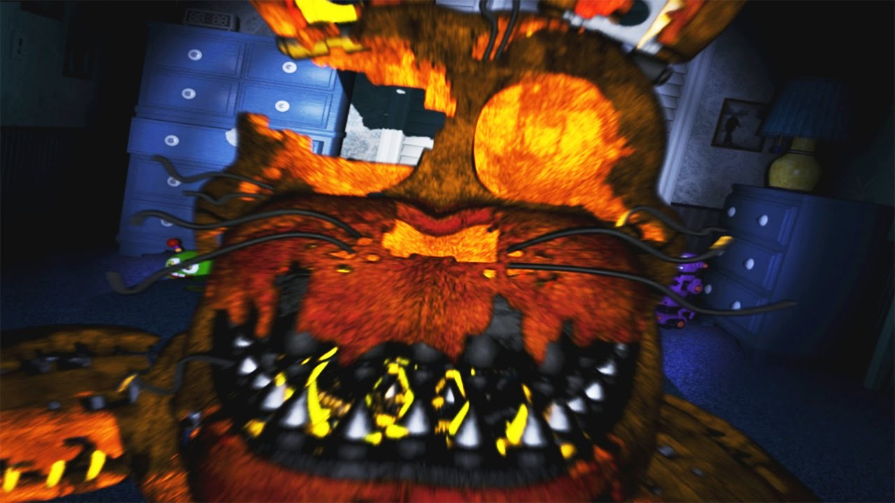 INSTA-FOXY/MAD FREDDY - DUAL CHALLENGE COMPLETED - FNAF4 ...