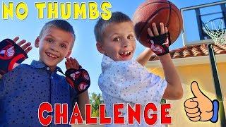 Twins No Thumbs Challenge!!