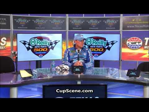 NASCAR at Texas Motor Speedway, April 2018: Kevin Harvick post race