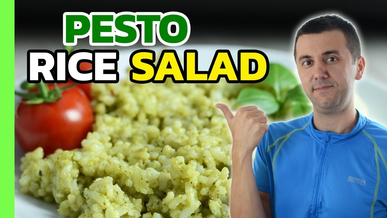 Green Rice with Pesto