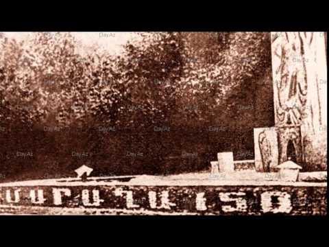 1967 год Памятник 150-ти летию переселения армян в Карабах - 1988 год надпись убрана