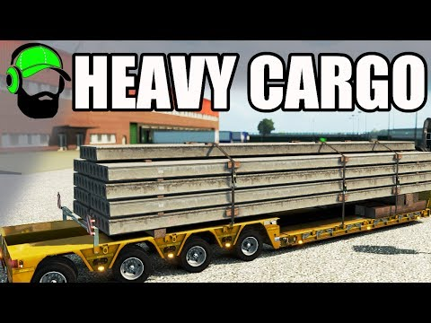 Euro Truck Simulator 2 - Heavy Cargo Pack DLC  - Beaming! - #ETS2