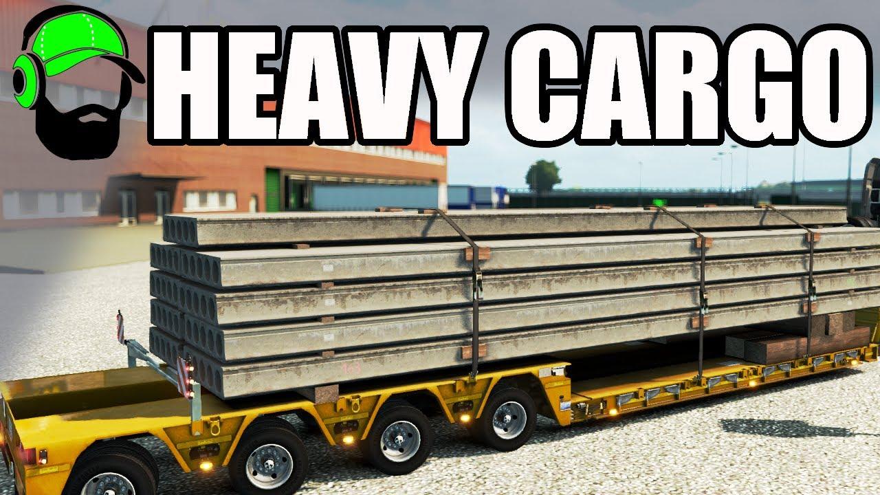 euro truck simulator 2 heavy cargo pack dlc beaming ets2 youtube. Black Bedroom Furniture Sets. Home Design Ideas