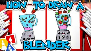 How To Draw A Funny Blender