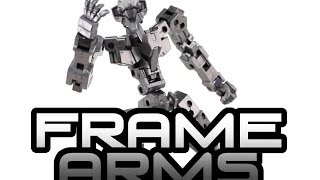 What Are Frame Arms An Introduction To Kotobukiyas 1100 Scale Model Kits.