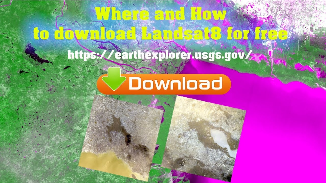How to download landsat8 from earth explorer website for free 2018 and for  remote sensing analysis