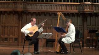Sinfonia by Nicholas Lanier, performed by Duo Marchand