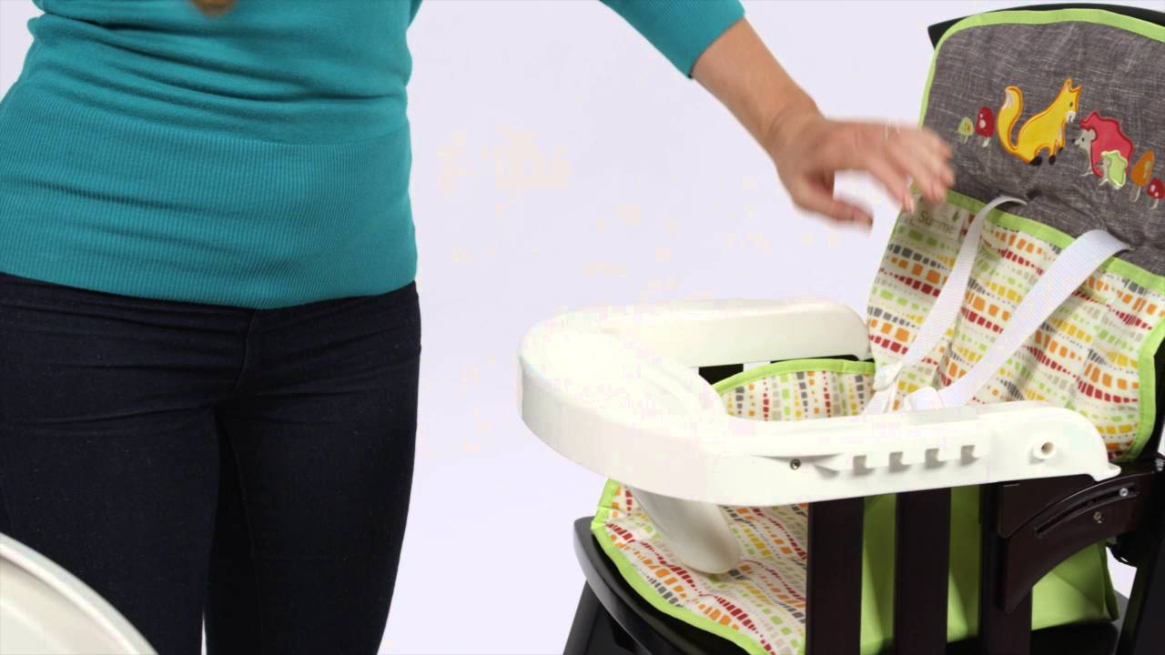 Summer Infant Classic Comfort Wood Highchair Product Video