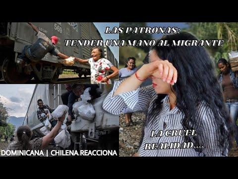 EXTRANJERA REACCIONA a LAS PATRONAS: Tender una mano al migrante por PRIMERA VEZ