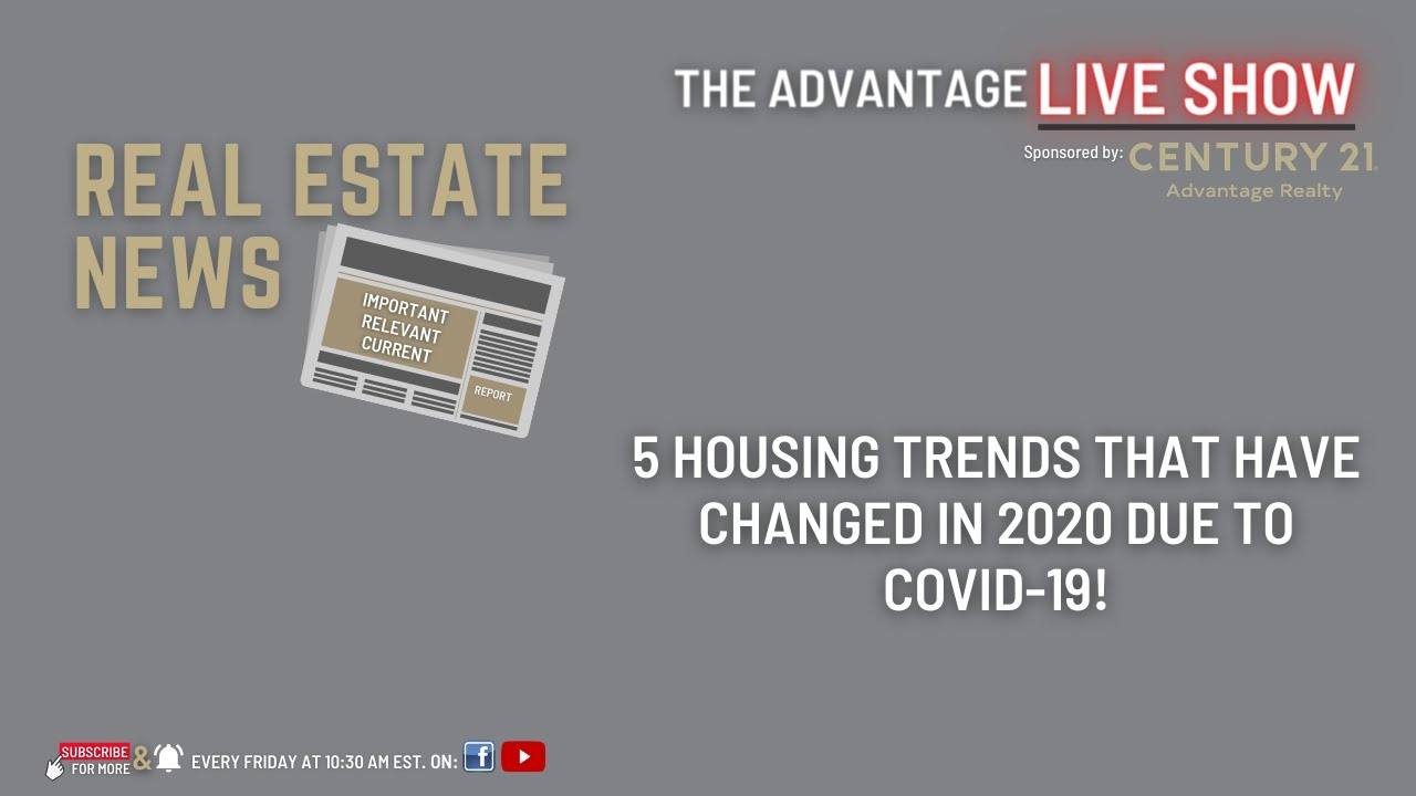 5 Housing Trends That Have Changed In 2020