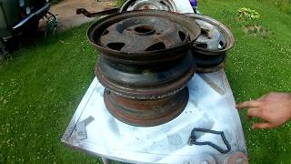 печь мангал из дисков своими руками