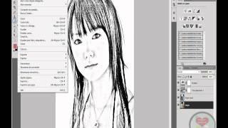 Cambiar Una Imagen A Dibujo con Photoshop Cs4