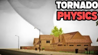 INSANE Physics! Playing As A Tornado And Leveling A Town! - Storm Chasers Multiplayer