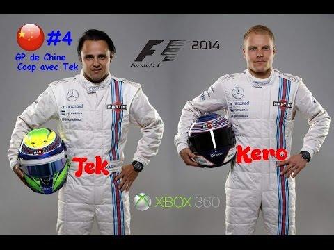 [#4] GP de Chine, Shanghai - Coop avec Tek - F1 2014 (XBOX 360)