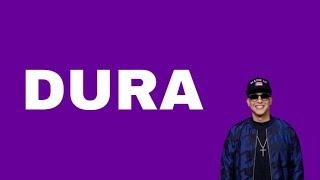 Download Dura - Daddy Yankee (Official Lyrics) English subtitles Mp3