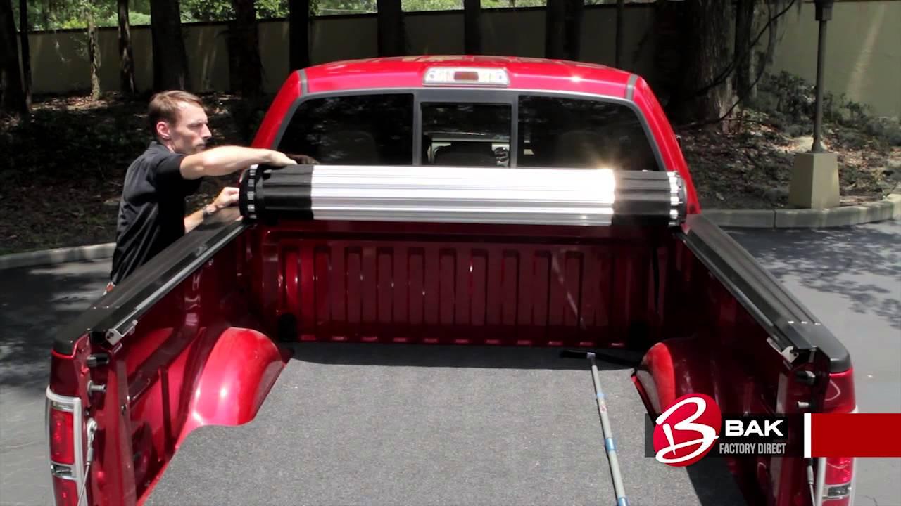 Bak Roll X Roll Up Tonneau Cover Review Autocustoms Com Youtube