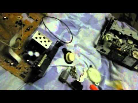 что можно сделать из старого видеомагнитофона.
