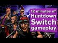 Let's Play Huntdown - 12 minutes of Huntdown Switch gameplay