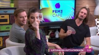 Elképesztő: Íme a kártyával trükköző kutya - tv2.hu/fem3cafe
