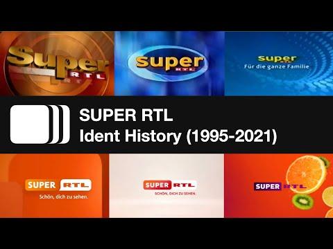 SUPER RTL Ident History (1995-2021)