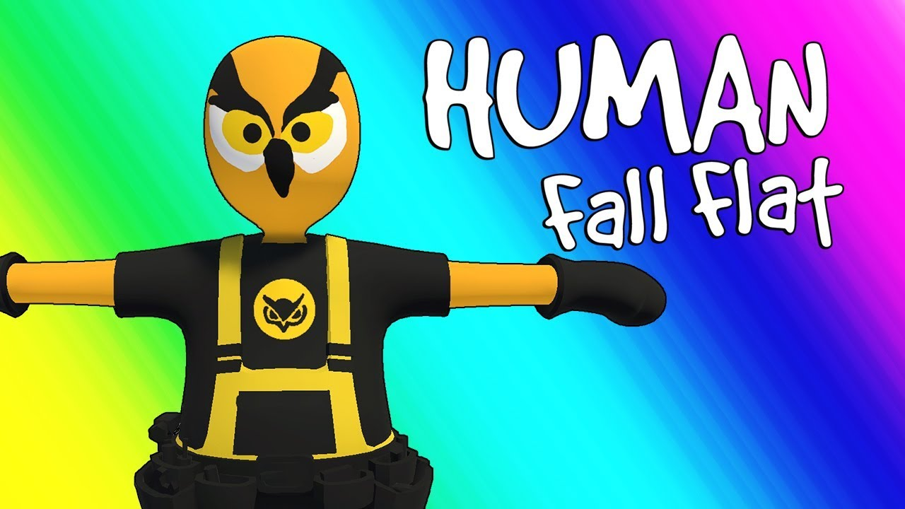 Human Fall Flat Funny Moments - Parkour Team! (Funniest Game Ever!)