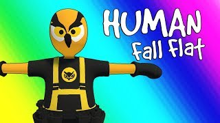Human Fall Flat Funny Moments - Parkour Team! (Funniest Game Ever!) thumbnail