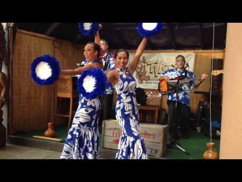 Hawaiian War Chant Hula at Tiki's   Kaua I Ka Huahua`i -  Ta Hu Wa Hu Wai