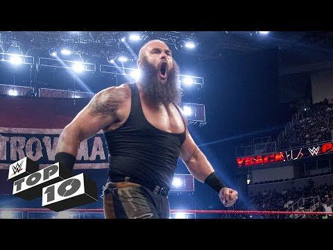 Braun Strowman's monstrous displays of strength - WWE Top 10