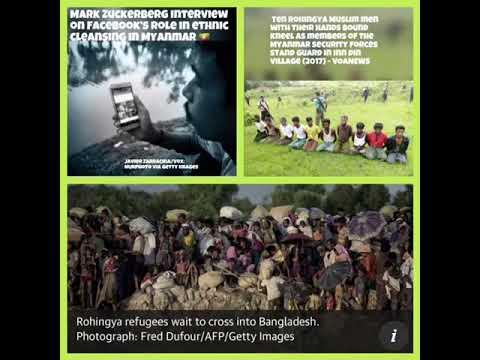 Mark Zuckerberg Responds to Critics on Facebook's Role in Rohingya Muslim Ethnic Cleansing-Myanmar