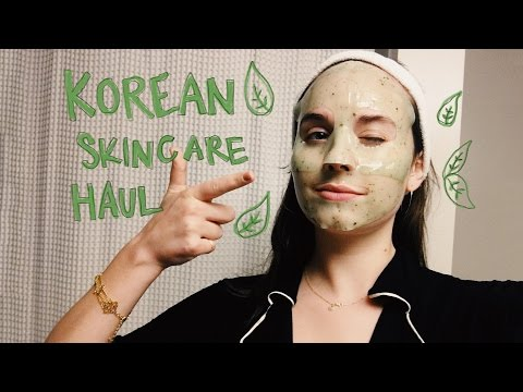 Korean Skincare Haul and Try-On Review!