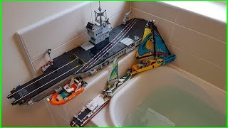 DO LEGO BOATS FLOAT 5 ????