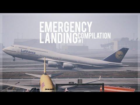 GTA 5 - Emergency Landing Compilation #1 (Engine Failures, Go-Arounds)