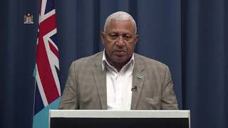 Video message by Prime Minister of Fiji