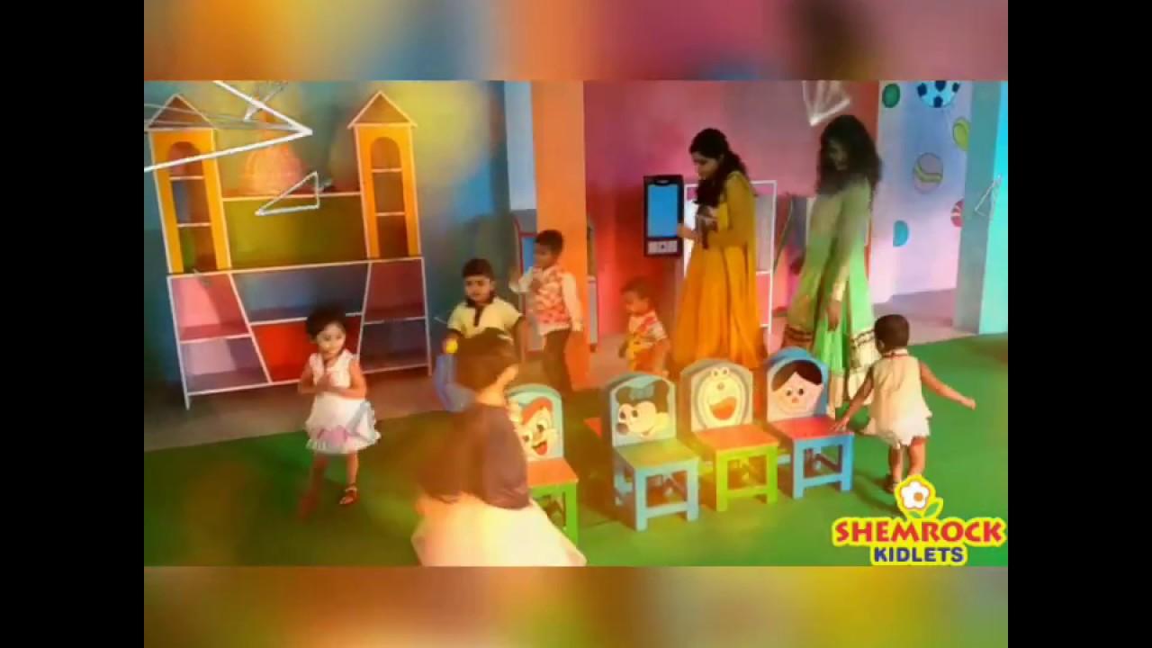 Musical chair game for kids - Kids Enjoying Fun Loving Game Of Musical Chairs