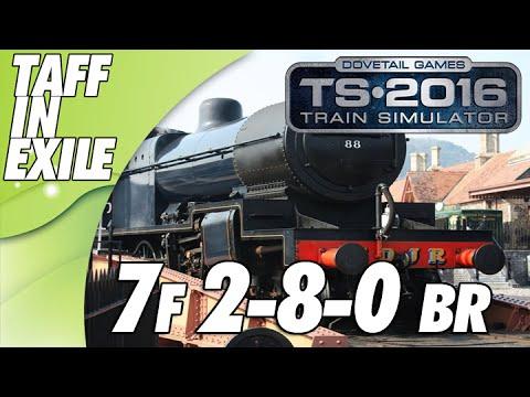 Train Simulator 2016 - E4 - 7F 2-8-0 BR with No Brakes !