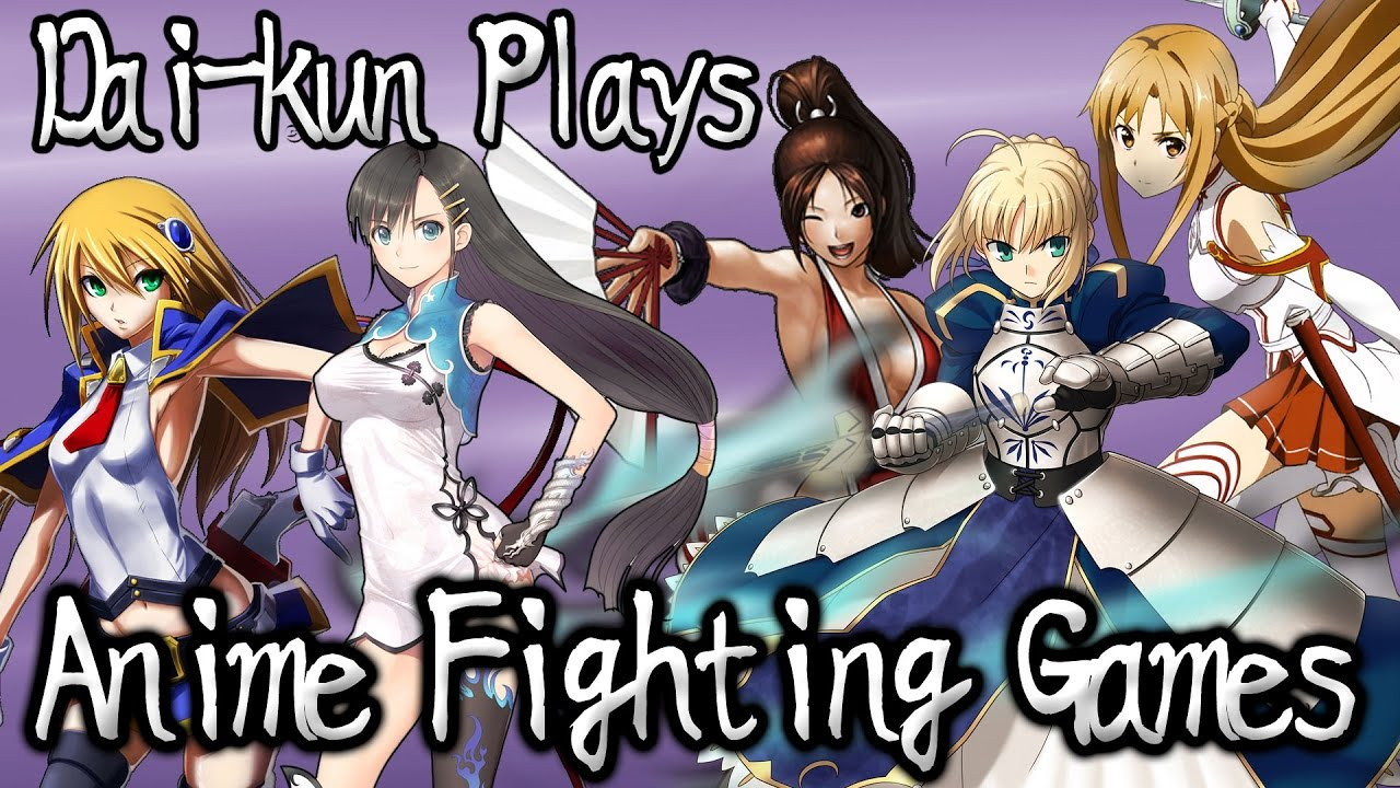 Anime Fighting Games feat. Saber – Lightning Round!