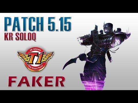 SKT T1 Faker - Shen Top Lane - KR SoloQ