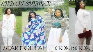 plus size fall lookbook 2016  collab with daquana white