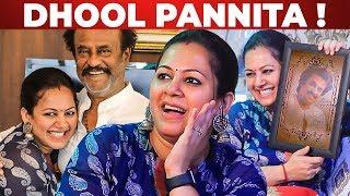 "Thalaivar Said ""DHOOL PANNITA"" – VJ Archana on Meeting Superstar Rajinikanth"