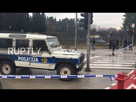 Montenegro: Heavy police presence in Podgorica after US embassy suicide attack