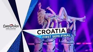 Albina - Tick-Tock - LIVE - Croatia 🇭🇷 - First Semi-Final - Eurovision 2021