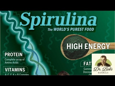 Spirulina: One of Two Most Powerful Foods Known