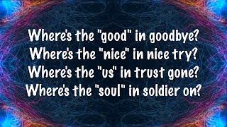 Repeat youtube video The Script - No Good In Goodbye (Lyrics)
