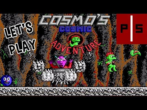 Let's Play Cosmo's Cosmic Adventure (DOS) Part 4: Level 10 & Ending