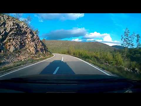 Herceg Novi - Niksic - Podgorica 2017 (5x speed)